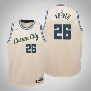 Women Bucks #26 Kyle Korver City Jersey